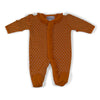 Two Feet Ahead - Infant Clothing - Infant Lattice Footed Creeper