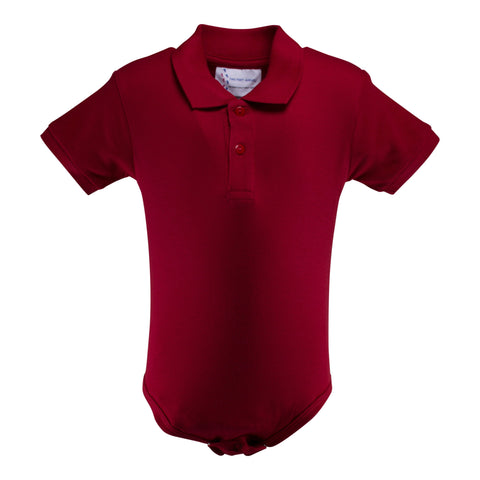 Two Feet Ahead - Infant Clothing - Infant Golf Shirt Romper