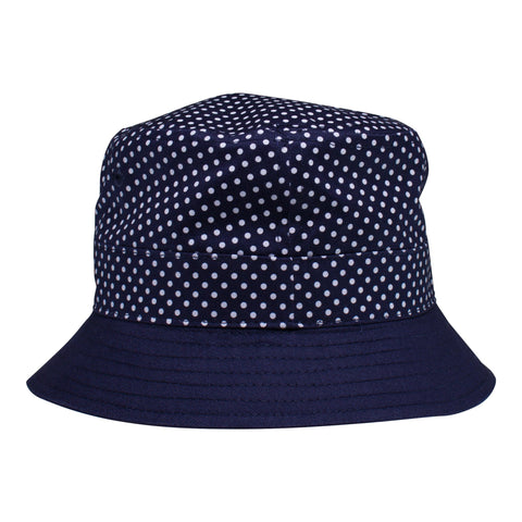 Two Feet Ahead - Infant Clothing - Pin Dot Bucket Hat