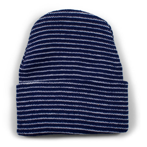 Two Feet Ahead - Infant Clothing - Newborn Stripe Knit Cap
