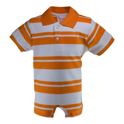 Two Feet Ahead - Infant Clothing - Infant Rugby T-Romper