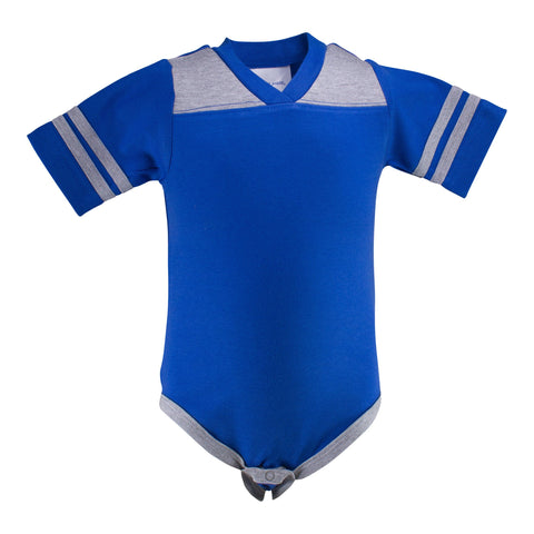 Two Feet Ahead - Infant Clothing - Infant Football Creeper
