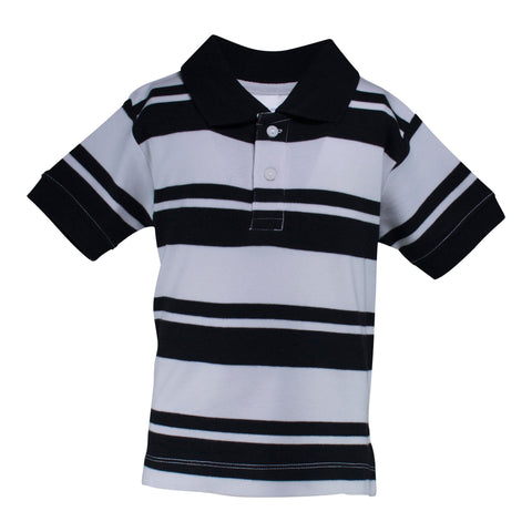 Two Feet Ahead - Infant Clothing - Toddler Rugby Golf Shirt