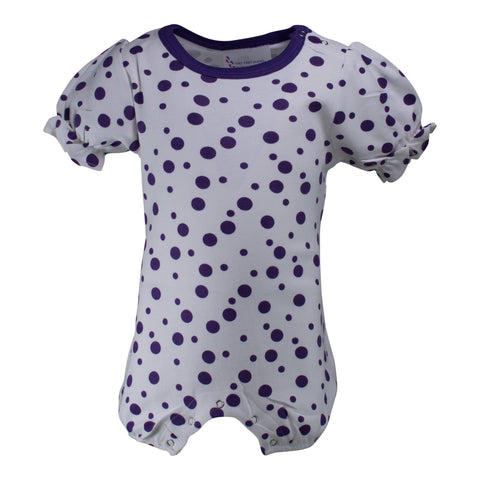 Two Feet Ahead - Infant Clothing - Infant Polka Dot Girl's Romper