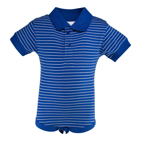 Two Feet Ahead - Infant Clothing - Infant Jersey Golf Shirt Creeper
