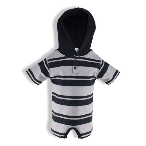 Two Feet Ahead - Infant Clothing - Infant Hooded T-Romper