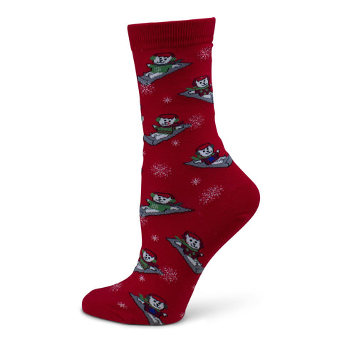 Two Feet Ahead - Socks - Women's Christmas Crew Sock