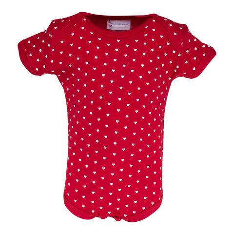 Two Feet Ahead - Infant Clothing - Infant Lap Shoulder Heart Creeper