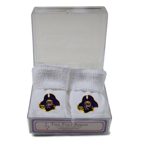 Two Feet Ahead - East Carolina - East Carolina Gift Box Bootie