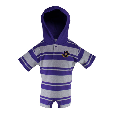 East Carolina Hooded T-Romper