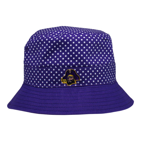 East Carolina Pin Dot Bucket Hat