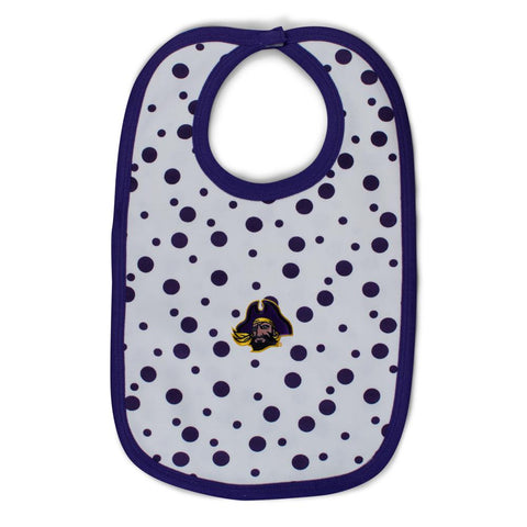 East Carolina Polka Dot Bib