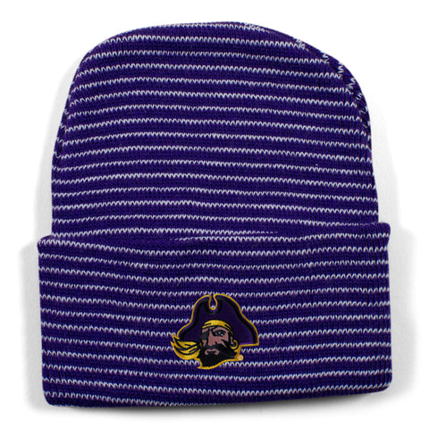 Two Feet Ahead - East Carolina - East Carolina Stripe Knit Cap