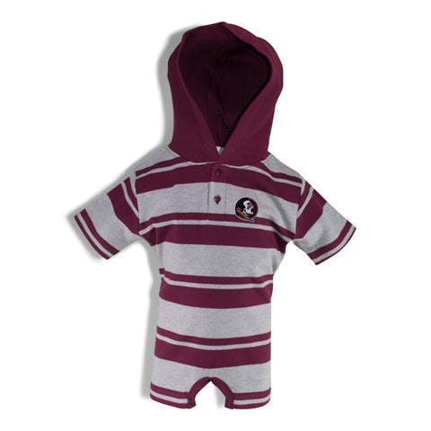 Two Feet Ahead - Florida State - Florida State Hooded T-Romper