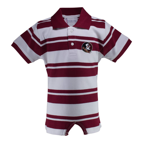 Two Feet Ahead - Florida State - Florida State Rugby T-Romper