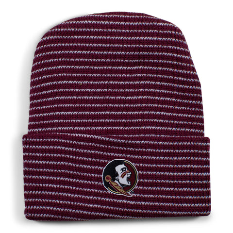 Two Feet Ahead - Florida State - Florida State Stripe Knit Cap