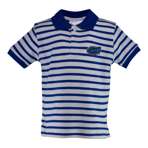 Two Feet Ahead - Florida - Florida Stripe Golf Shirt