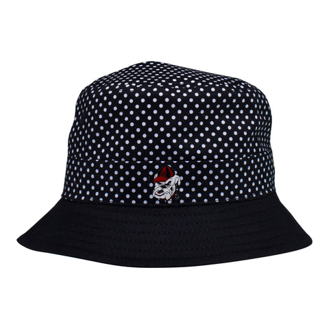 Georgia Pin Dot Bucket Hat