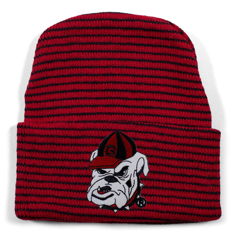 Georgia Stripe Knit Cap