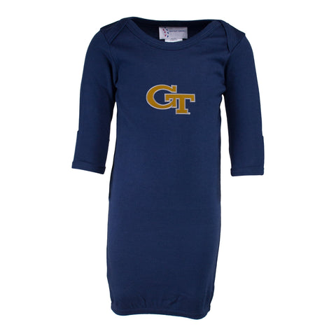 Two Feet Ahead - Georgia Tech - Georgia Tech Layette Gown