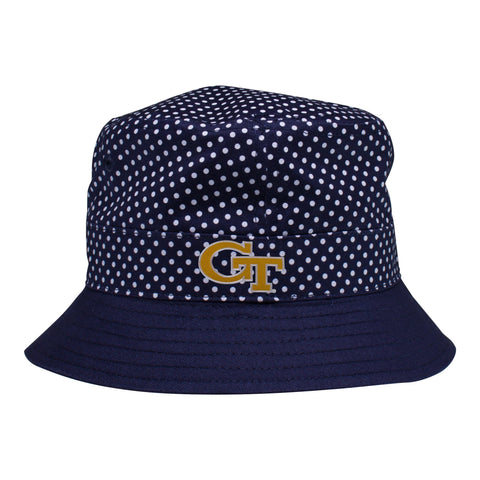 Two Feet Ahead - Georgia Tech - Georgia Tech Pin Dot Bucket Hat