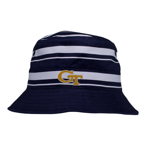 Two Feet Ahead - Georgia Tech - Georgia Tech Rugby Bucket Hat