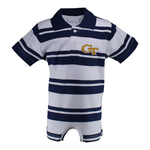 Two Feet Ahead - Georgia Tech - Georgia Tech Rugby T-Romper