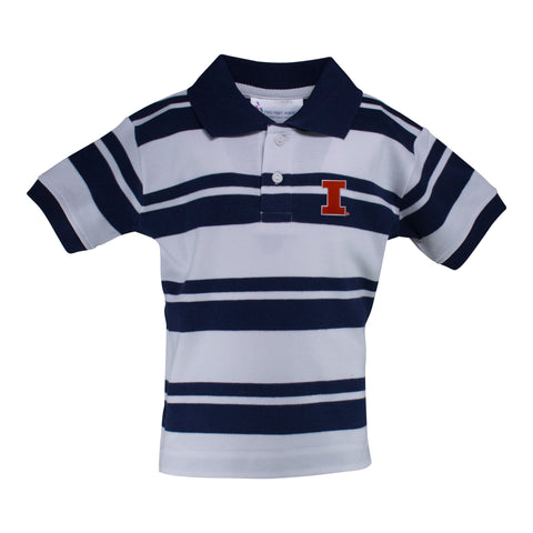 Two Feet Ahead - Illinois - Illinois Rugby Golf Shirt