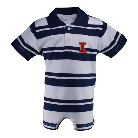 Two Feet Ahead - Illinois - Illinois Rugby T-Romper