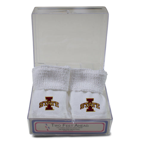 Two Feet Ahead - Iowa State - Iowa State Gift Box Bootie