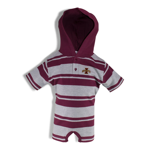 Two Feet Ahead - Iowa State - Iowa State Hooded T-Romper
