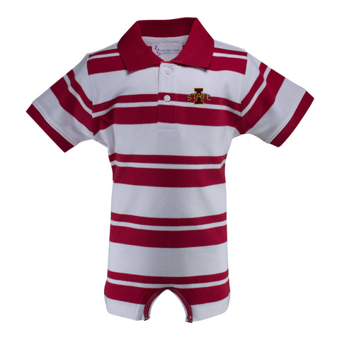 Two Feet Ahead - Iowa State - Iowa State Rugby T-Romper
