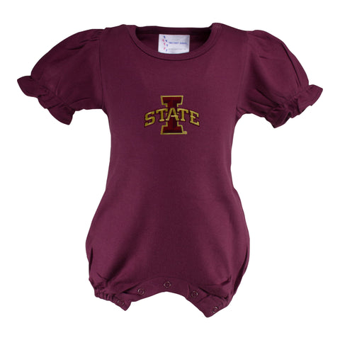 Two Feet Ahead - Iowa State - Iowa State Bubble Romper