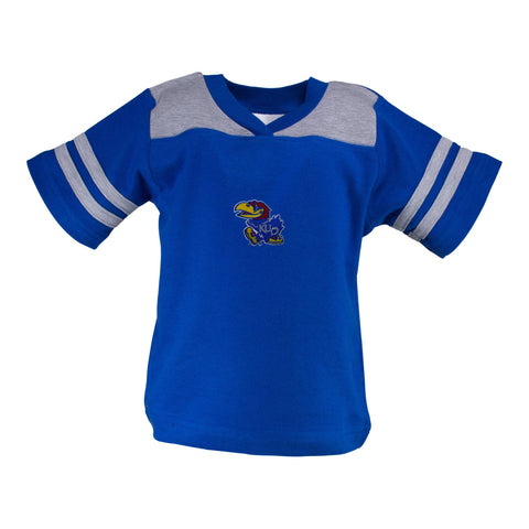 Two Feet Ahead - Kansas - Kansas Football T-Shirt