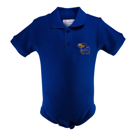 Two Feet Ahead - Kansas - Kansas Golf Shirt Romper