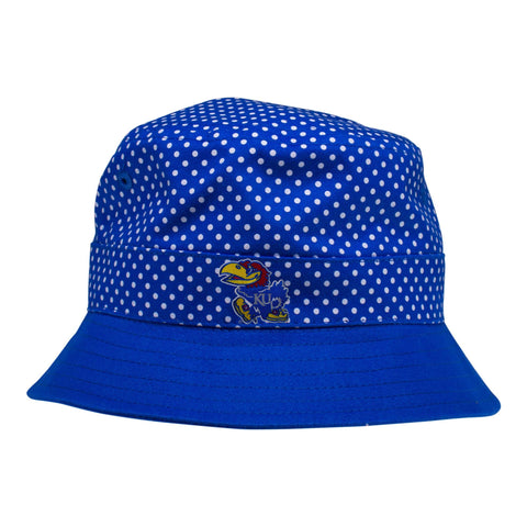 Two Feet Ahead - Kansas - Kansas Pin Dot Bucket Hat