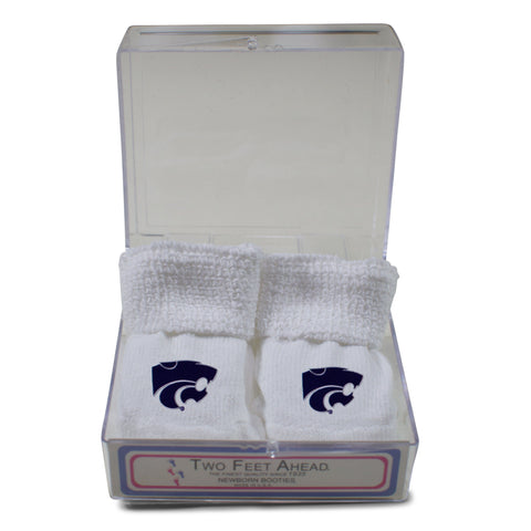 Two Feet Ahead - Kansas State - Kansas State Gift Box Bootie