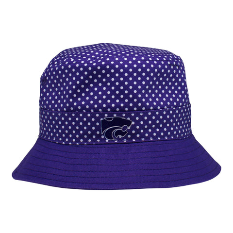 Two Feet Ahead - Kansas State - Kansas State Pin Dot Bucket Hat