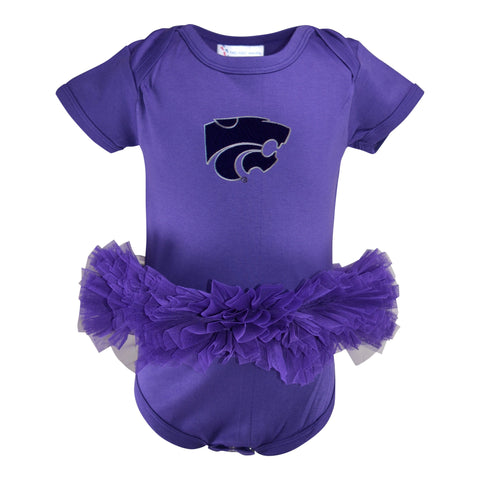 Two Feet Ahead - Kansas State - Kansas State Solid Tutu