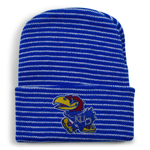 Two Feet Ahead - Kansas - Kansas Stripe Knit Cap