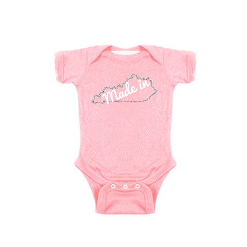 Two Feet Ahead - Infant Clothing - Made In Kentucky Girl's Creeper