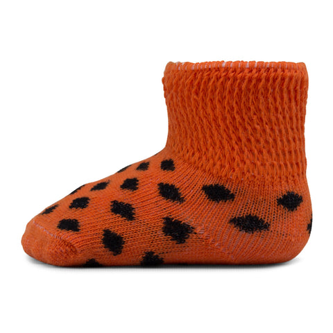 Two Feet Ahead - Socks - Baby Polka Dot Gift Box Bootie