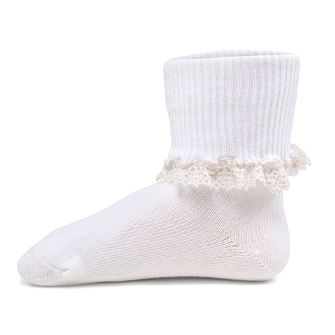 Two Feet Ahead - Socks - Girl's Crochet Lace Anklet