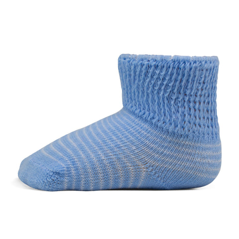 Two Feet Ahead - Socks - Baby Stripe Gift Box Bootie