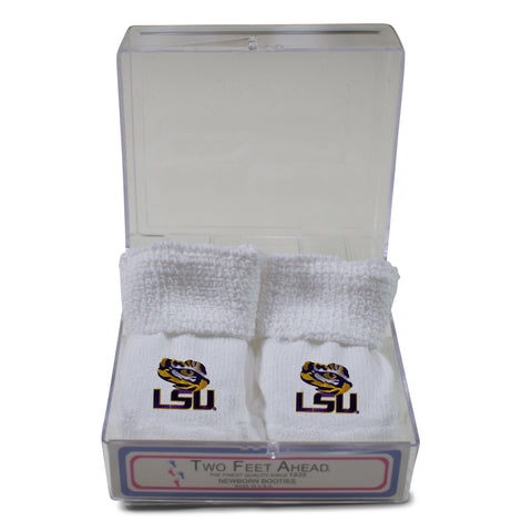 Two Feet Ahead - LSU - LSU Gift Box Bootie