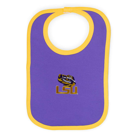Two Feet Ahead - LSU - LSU Knit Bib