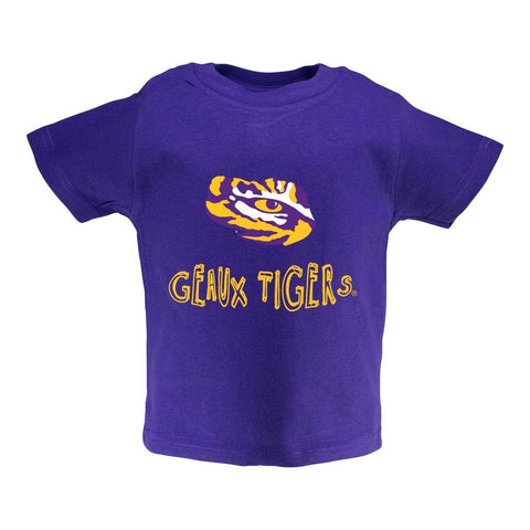 LSU Toddler Short Sleeve T Shirt Print