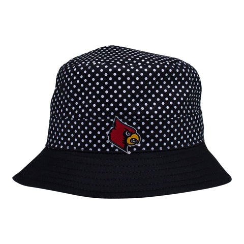 Two Feet Ahead - Louisville - Louisville Pin Dot Bucket Hat