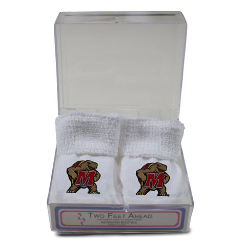 Two Feet Ahead - Maryland - Maryland Gift Box Bootie