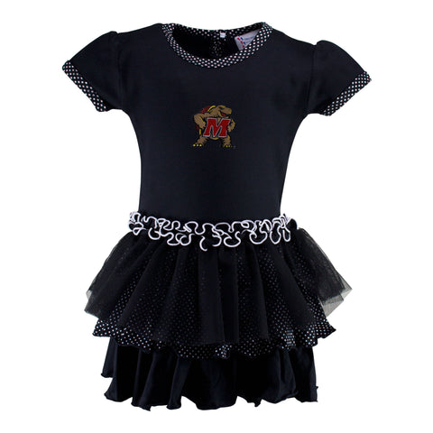 Maryland Pin Dot Tutu Dress